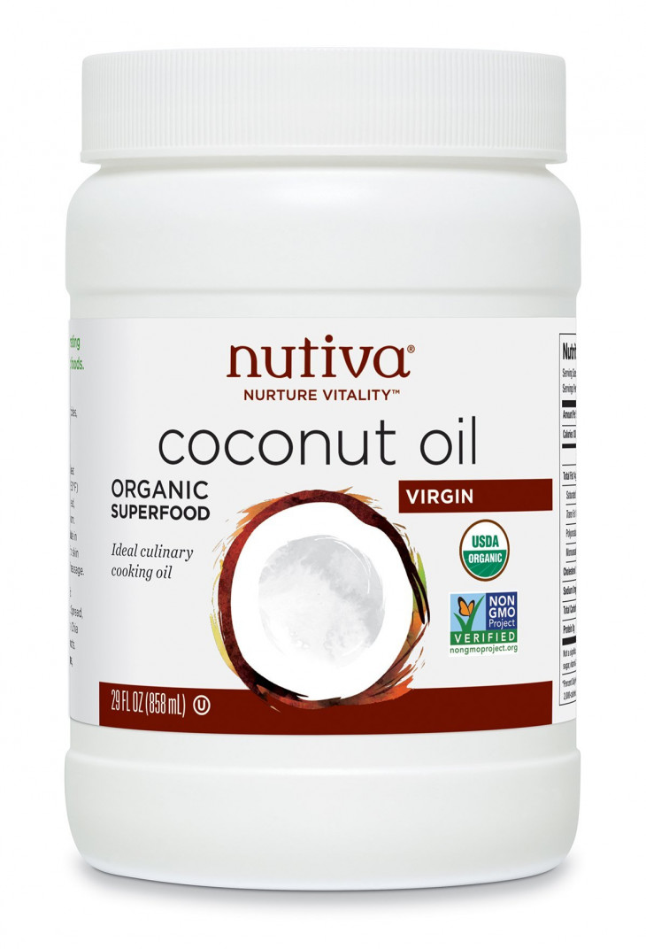 Кокосовое масло Nutiva Organic Virgin Coconut Oil