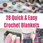 Crochet Blankets Collage