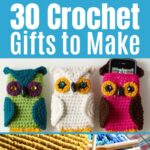 Crochet Gift Collage