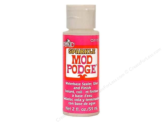 Plaid Mod Podge Sparkle 2oz Bulk