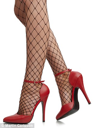 Towering pain: It takes one hour, six minutes and 48 seconds for high heels to start hurting