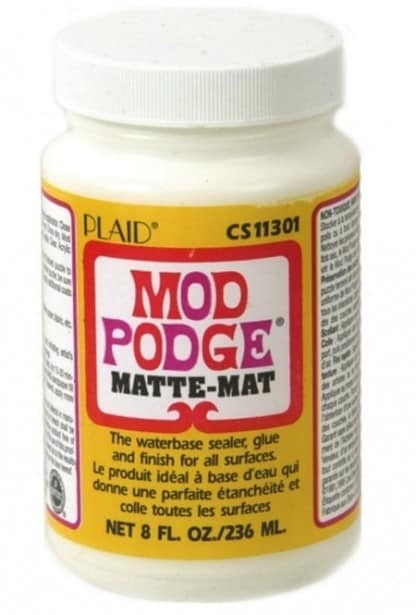 Mod Podge Matte formula bottle