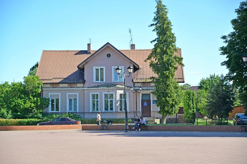 SLAVSK, RUSSIA. The house with the