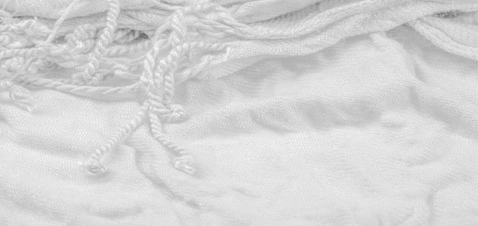Texture, background, pattern, postcard, silk fabric, white color, isabelline, artificially wrinkled fabric, wrinkled texture,. Texture background pattern stock images