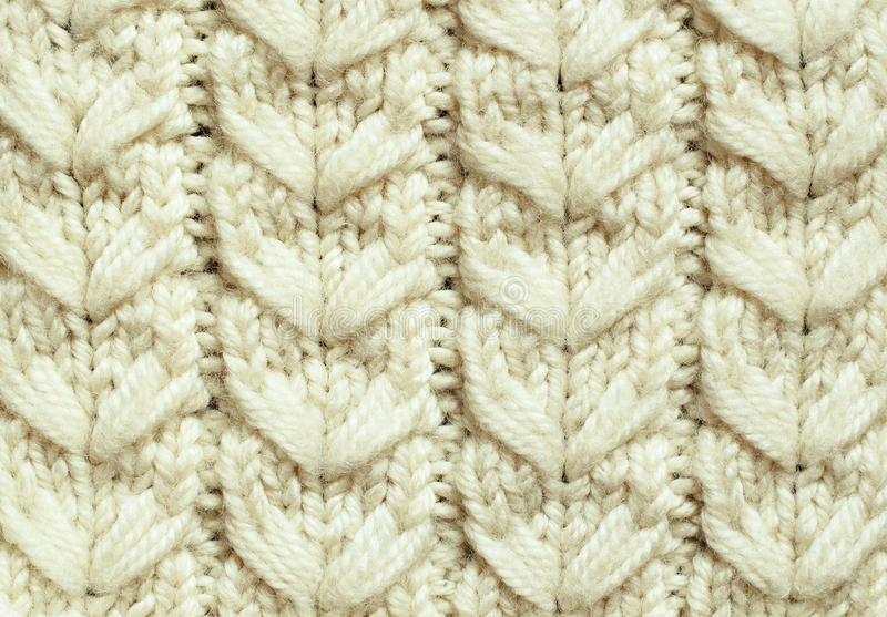 White knitted background royalty free stock image