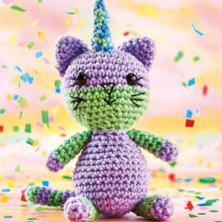 Free Crochet Pattern for a Cat Amigurumi Kayleigh Cat-icorn