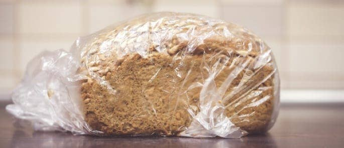 packaged loaf bread
