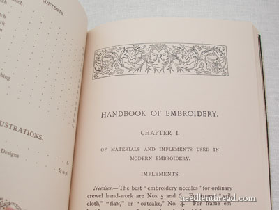 RSN Handbook of Embroidery
